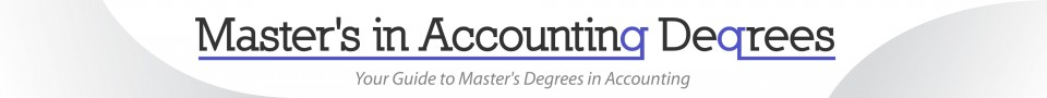 Master's in Accounting Degrees Logo