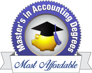 Badge - Master's in Accounting Degrees
